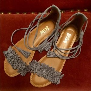 Boho Brash wrap sandals